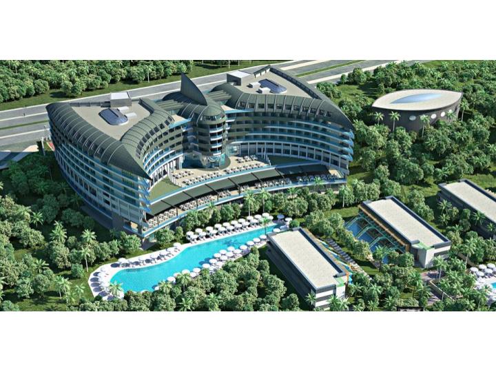 Hotel Delphin Botanik Platinum, Alanya